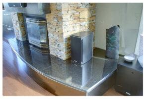 granite installation