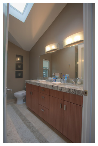 granite countertop bathroom