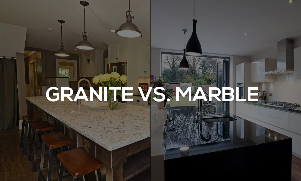 Granite vs. Marble - Edmonton Granite & Quartz