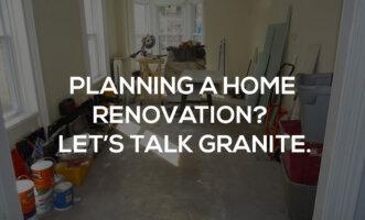kitchen renovation granite