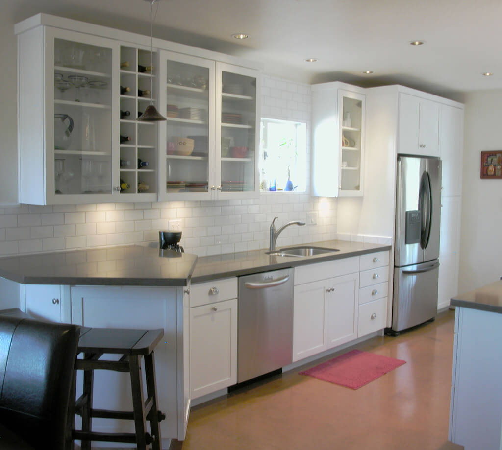 Concrete Countertop In Kitchen